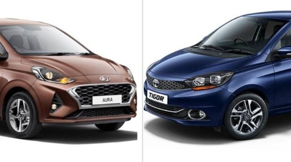 Hyundai Aura vs Tata Tigor