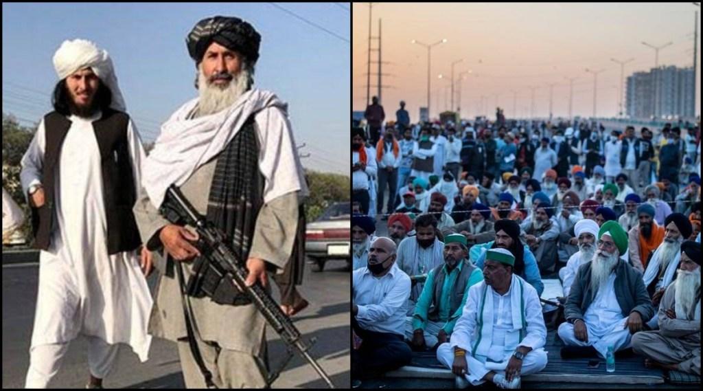 India Taliban Talk, Farmer Protest (1)
