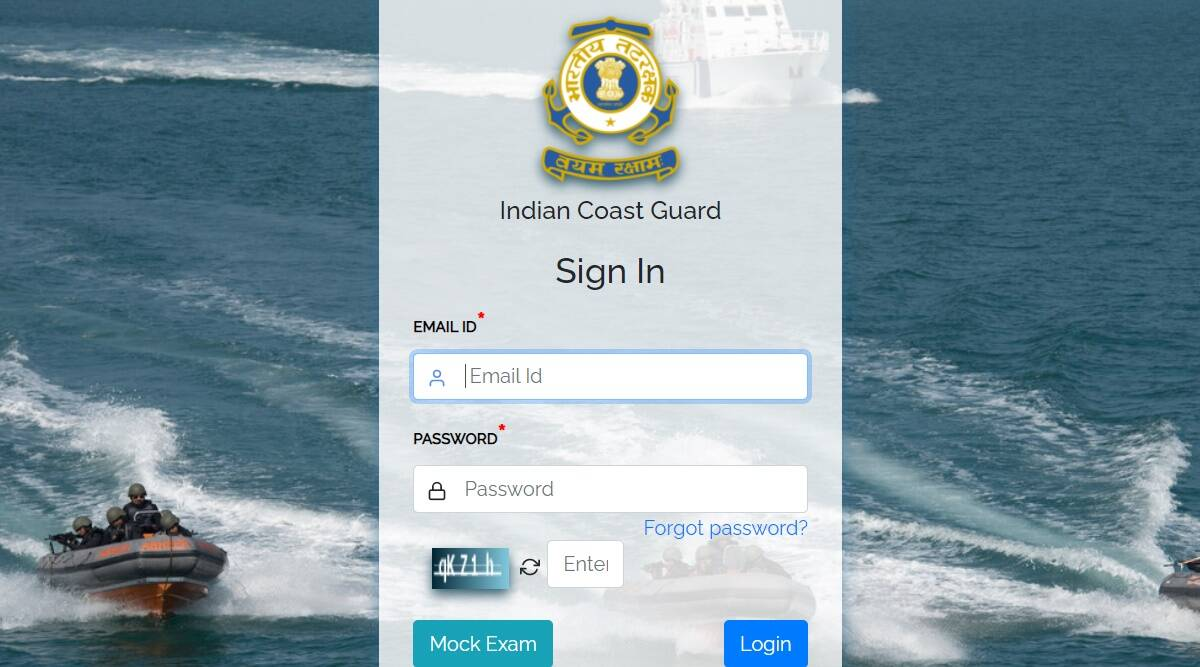 Indian Coast Guard Admit Card 2021: Download Admit Card for Yantrik and Navik recruitment exam from joinindiancoastguard.gov.in.  Check here for latest updates