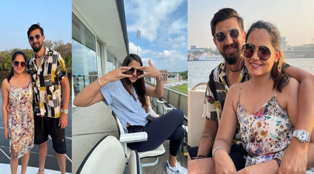 Ishant Sharma Pratima singh Burj Khalifa Dubai IPL 2021 Exercise Work Out