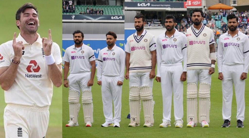 James Anderson India vs England Black Armbands Vasoo Paranjpe