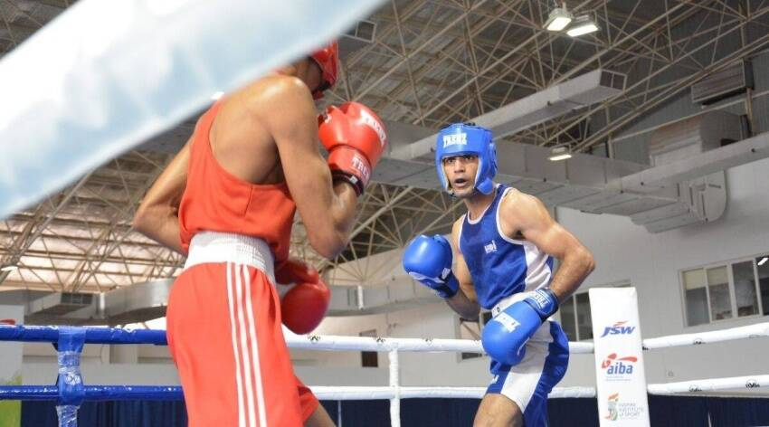 January 2021 Akash won Under 21 Gold medal Khelo India Youth Games Guwahati