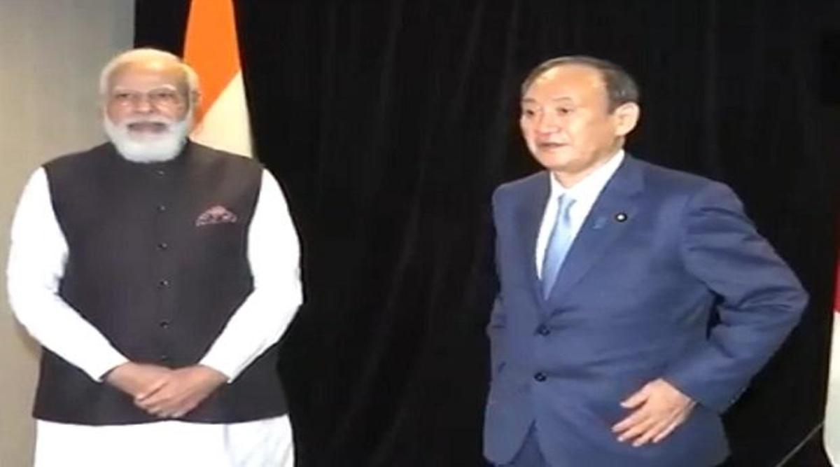 Modi and Japan PM Suga commit to a free, open Indo-Pacific region
