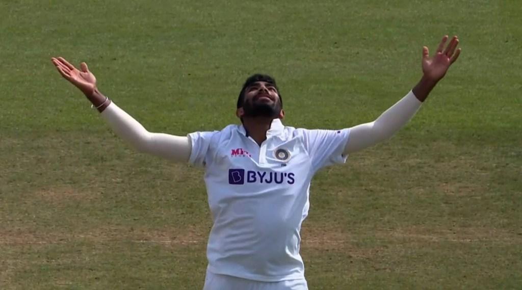 ind-vs-eng-jasprit-bumrah-completes-100-test-wicket-and-becomes-fastest-indian-fast-bowler-leaves-kapil-dev-behind