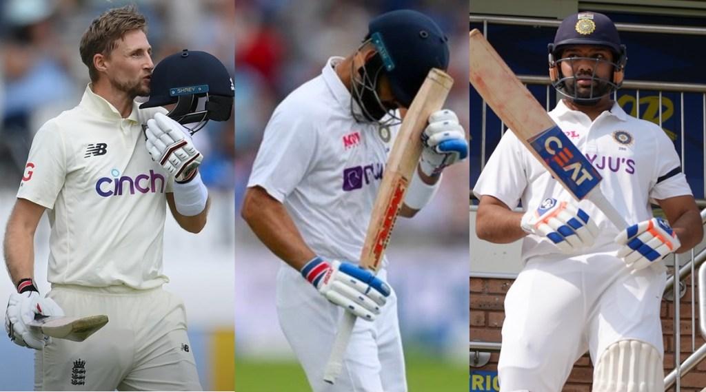 Joe Root Virat Kohli Rohit Sharma ICC Test Mens Batting Rankings India vs England