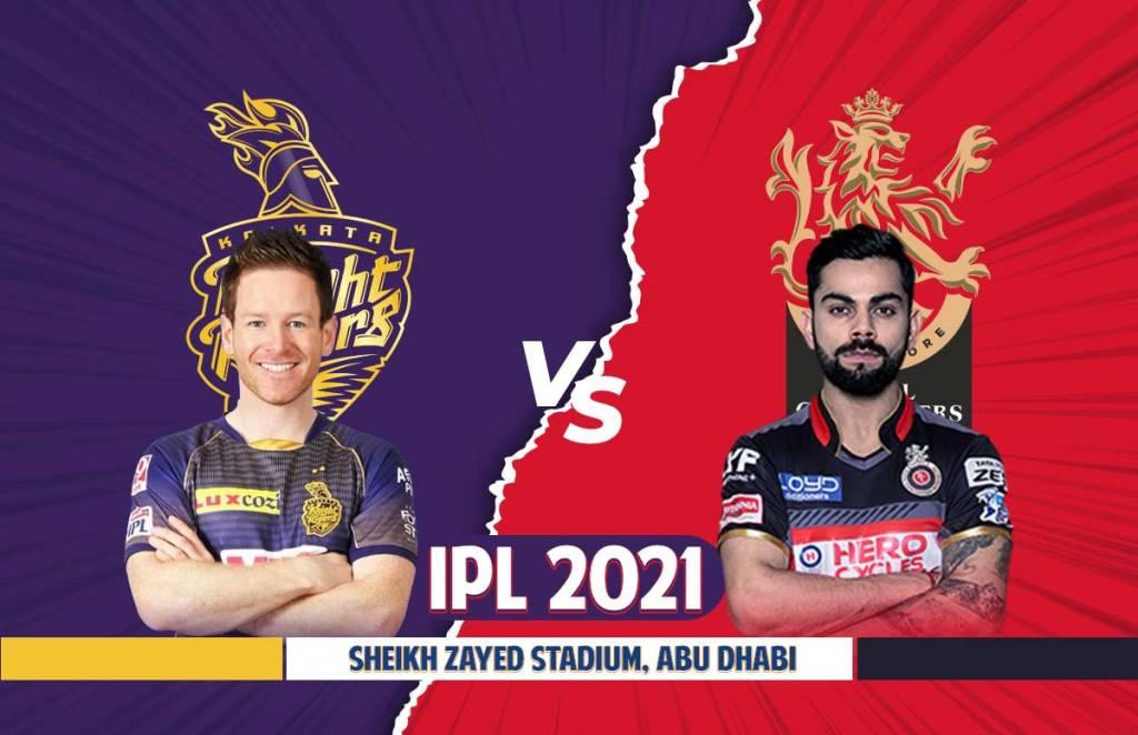 IPL 2021 RCB Prediction Playing vs KKR Prediction Playing 11