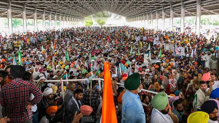 Karnal Kisan Mahapanchayat, Karnal, Karnal farmers, Karnal farmers protest, farmers march Haryana, Haryana farmers