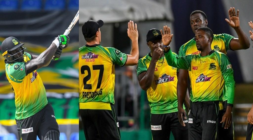 Kennar Lewis Jamaica Tallawahs Saint Lucia Kings Preity Zinta MS Dhoni CSK IPL 2021