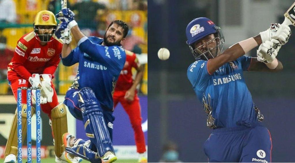 MI vs PBKS IPL 2021 Match 42 Result Hardik Pandya   Saurabh Tiwary