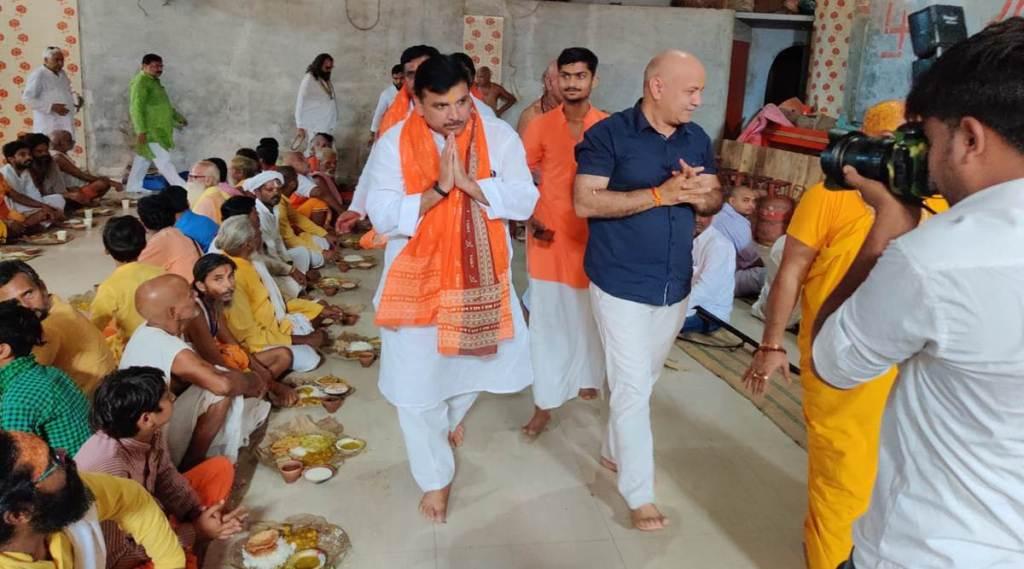 Manish Sisodia, Manish Sisodia in Ayodhya