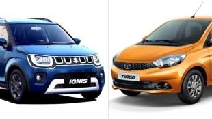 Maruti Ignis vs Tata Tiago