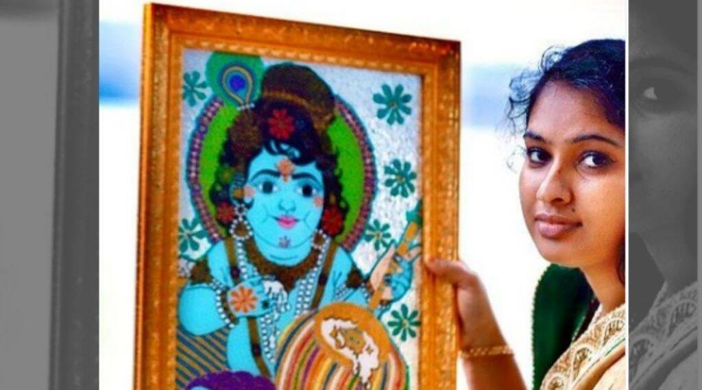 Jasna Salim Painting, Kerala