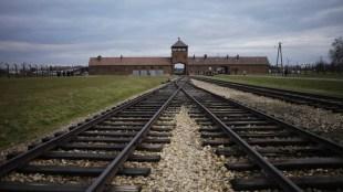Nazi death camp of Auschwitz in Poland