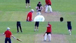 Neither batter accepts blame for the dismissal112