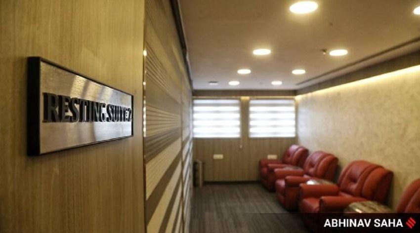 New Executive Lounge at New Delhi Railway station