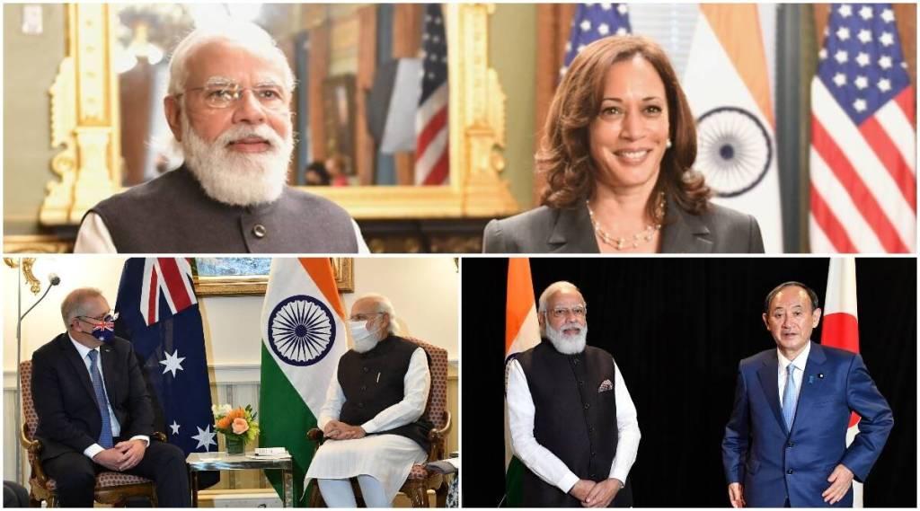 PM Modi, Scott Morrison, Prime Minister Narendra Modi, Kamala Harris, US, UNGA, UNGA Modi,