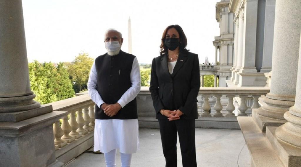PM modi America Kamla Harris