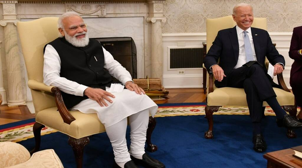 PM modi and joe biden meeting, PM modi america visit, joe biden meets pm modi, UNGA summit