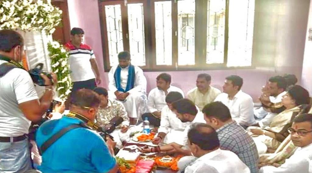 Pashupati Paras, Ram Vilas Paswan, Chirag Paswan