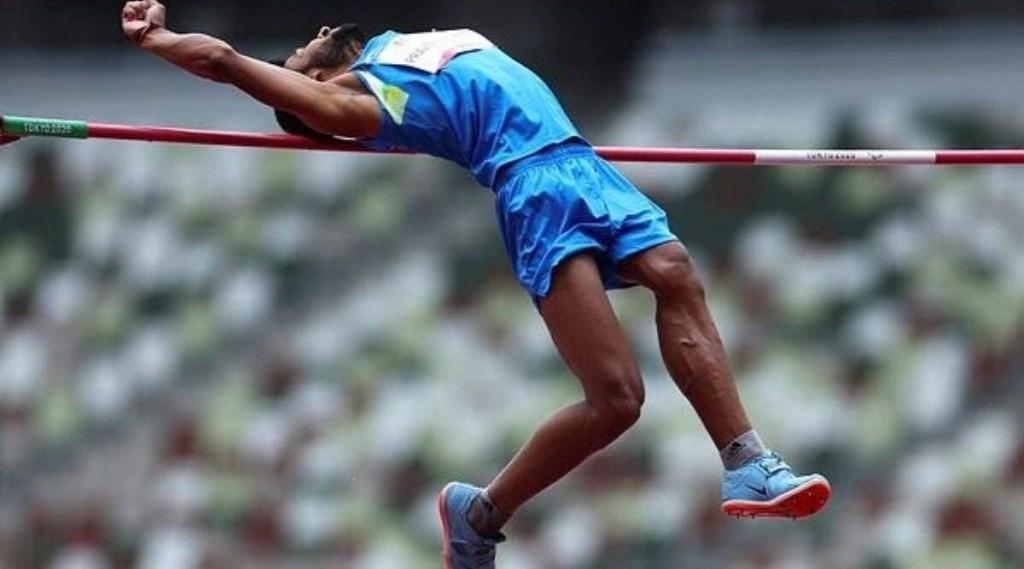 Praveen Kumar India men high jump T64 Final Olympic Stadium Tokyo