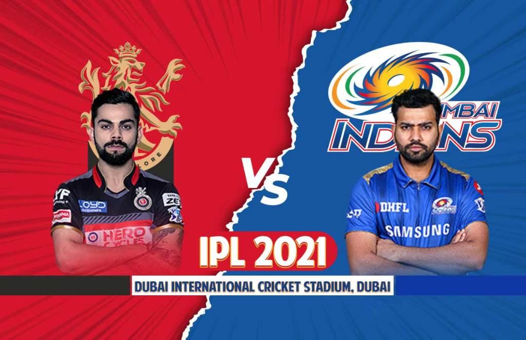 RCB Playing 11   MI Playing 11   IPL 2021 Match 39 Dream 11 Prediction