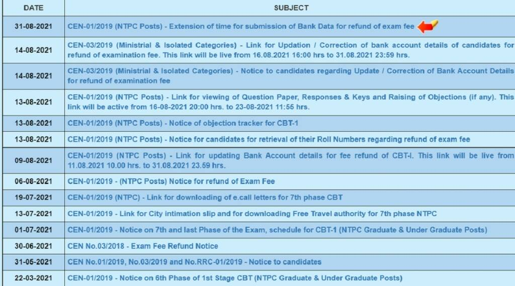 rrb ntpc result 2021 date, rrb ntpc result 2021 phase 3, rrb ntpc result 2021 phase 4, rrb ntpc result 2021 phase 5, rrb ntpc result 2021 kab aayega,
