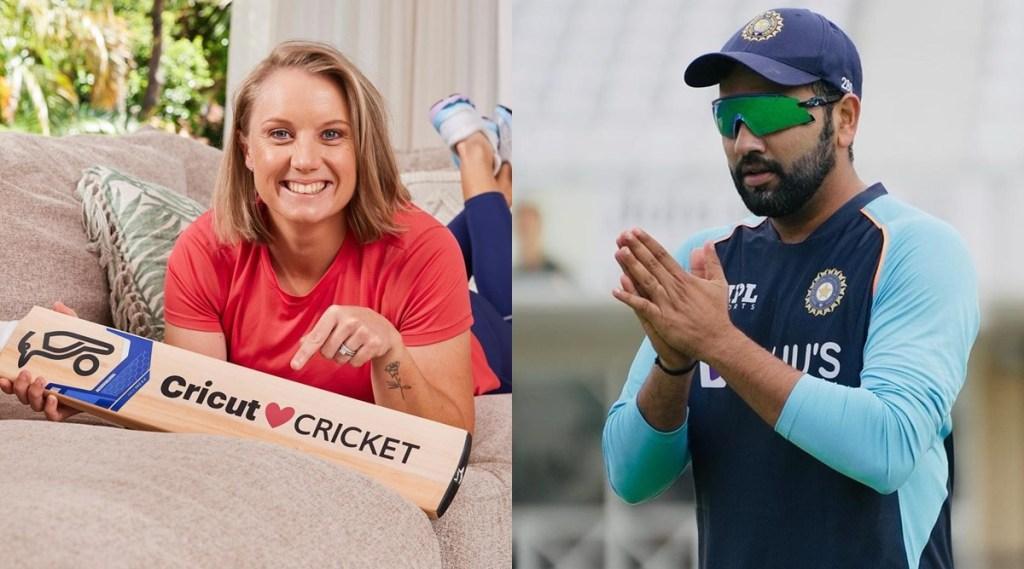 Rohit Sharma Alyssa Healy Mitchell Starc India vs Australia Women Team
