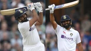 ind-vs-eng-rohit-sharma-completes-century-in-oval-test-with-sixer-and-made-several-records-watch-video