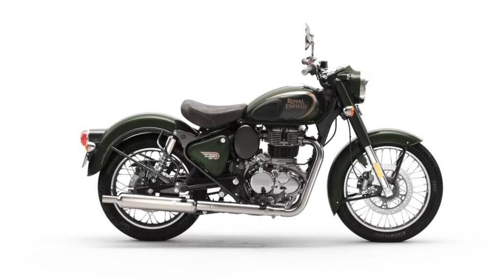 Royal Enfield Classic 350 Halcyon Series With Down Payment