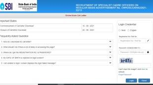 Download SBI SCO Admit Card 2021, SBI Admit Card, SBI Specialist Cadre Officer Call Letters, sbi sco