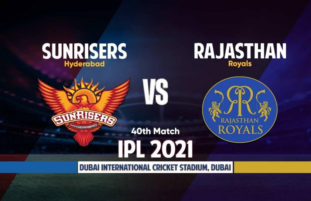 Sunrisers Hyderabad vs Rajasthan Royals Live Streaming