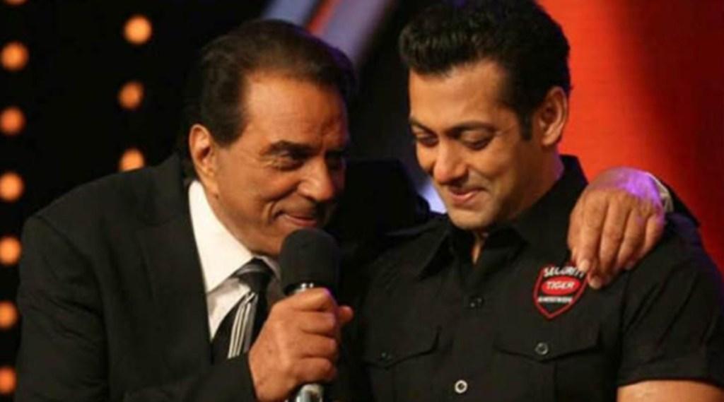 Salman Khan, Salman Khan Stunt, Dharmednra धर्मेंद्र,
