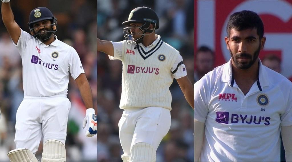 Shardul Thakur Jasprit Bumrah Rohit Sharma India vs England