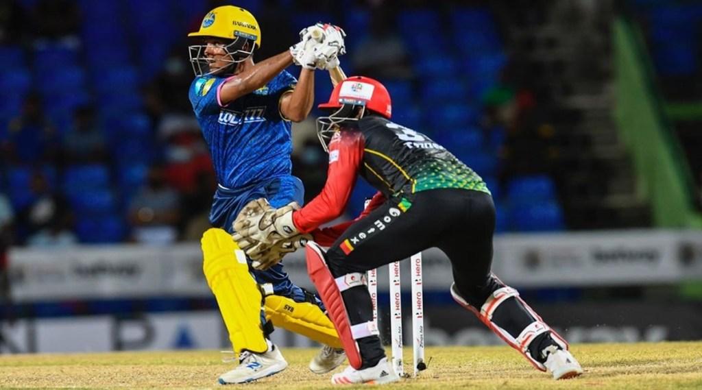 Smit Patel Caribbean Premier League 2021 St Kitts and Nevis Patriots vs Barbados Royals