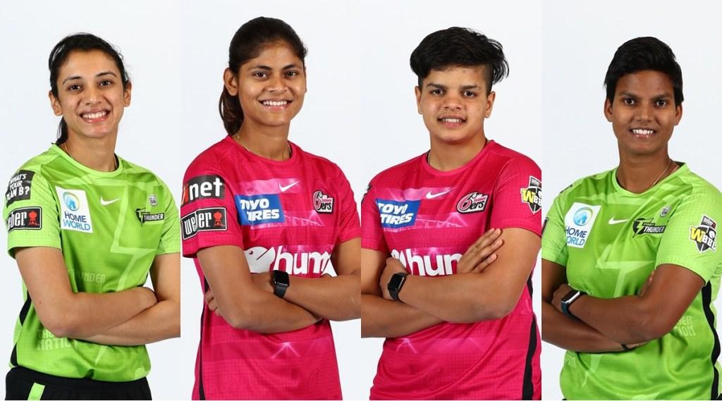 Smriti Mandhana Radha Yadav Shafali Verma Deepti Sharma WBBL 2021 Sydney Sixers Sydney Thunder