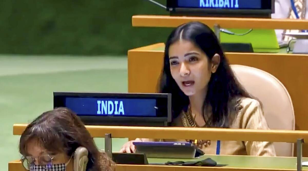 India's hard blow in the UN General Assembly, the firefighter Pakistan pretends to extinguish