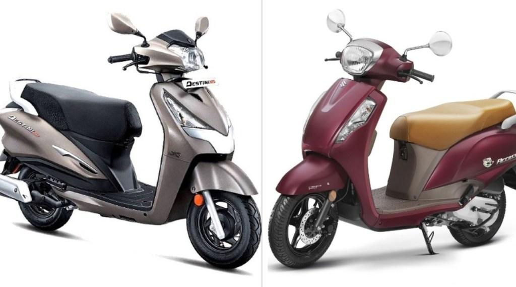Suzuki Access vs Hero Destini