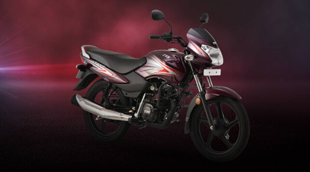 TVS Sport with down payment
