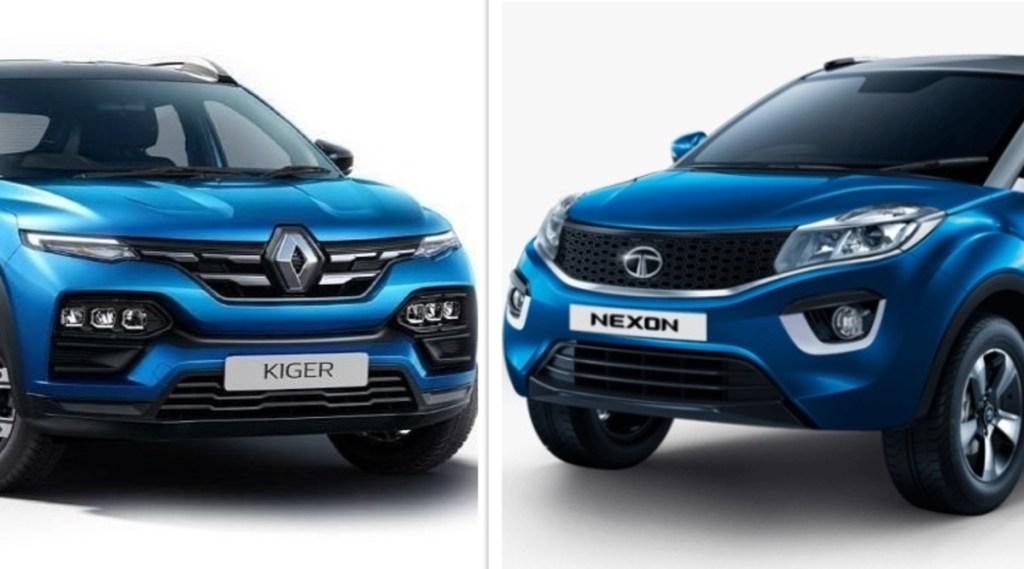 Tata Nexon vs Renault Kiger