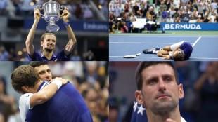 us-open-novak-djokovic-cries-after-loosing-21st-grandslam-missed-to-complete-calendar-grandslam-daniil-medvedev-new-champion-video