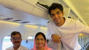 Neeraj Chopra, 2020 Olympics, flight, twitter, sports news, national news, jansatta