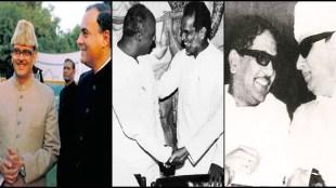 VP Singh Rajiv Gandhi MGR Karunanidhi devegowda ramakrishna hegde