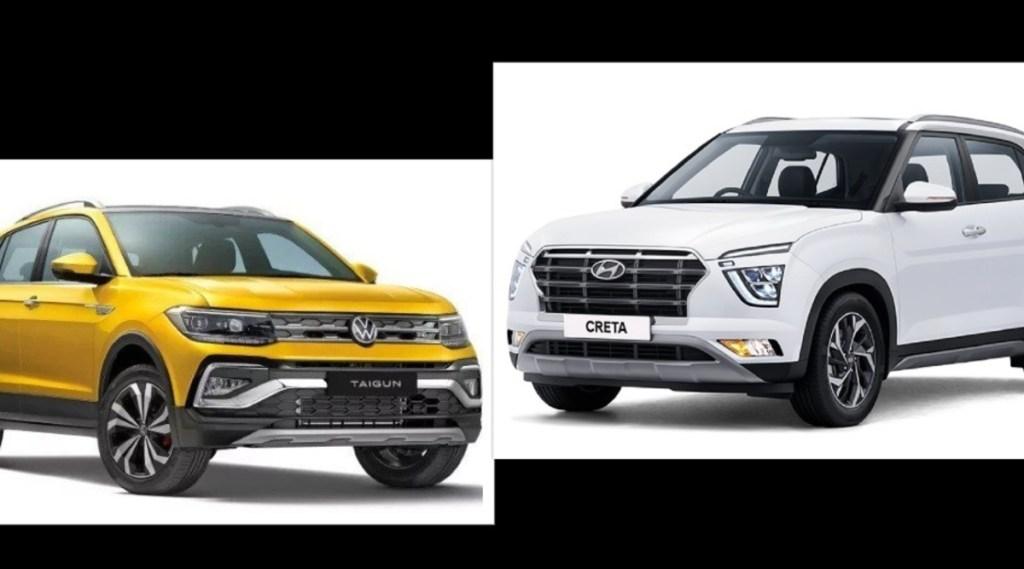 Volkswagen Taigun vs Hyundai Creta