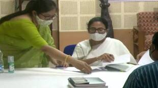 West Bengal CM Mamata Banerjee files nomination