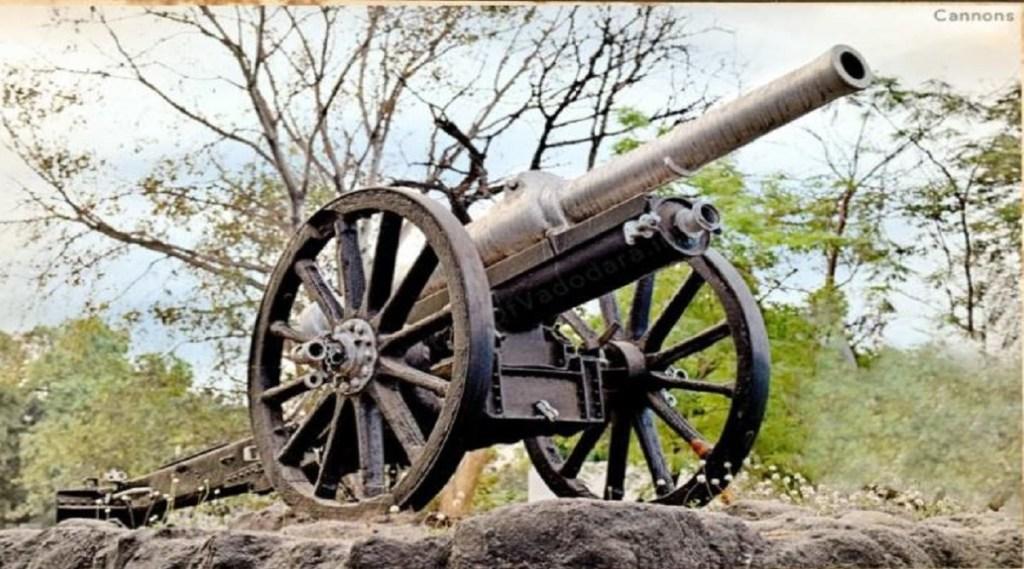 Cannon, British Rule
