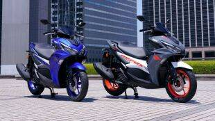 Yamaha launches AEROX 155 Maxi Sports Scooter