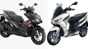 Yamaha Aerox 155 vs Aprilia SXR 160