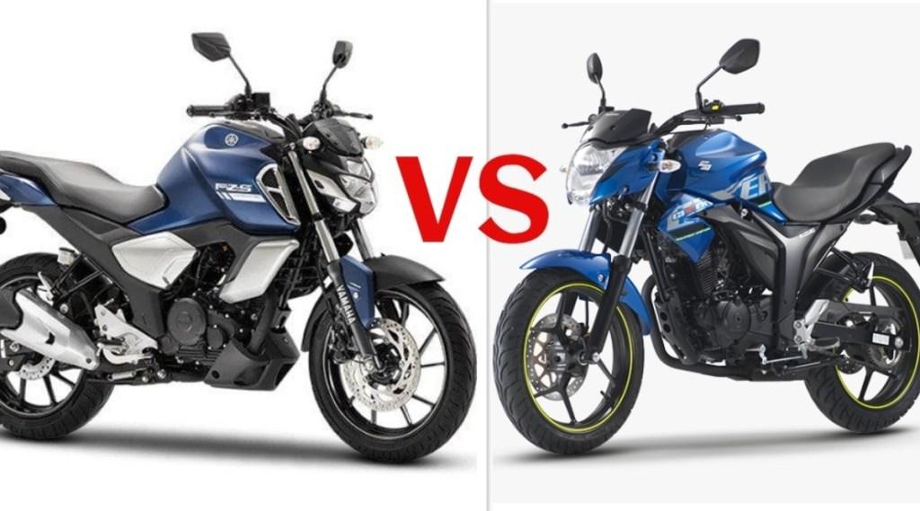 Yamaha FZS vs Suzuki Gixxer