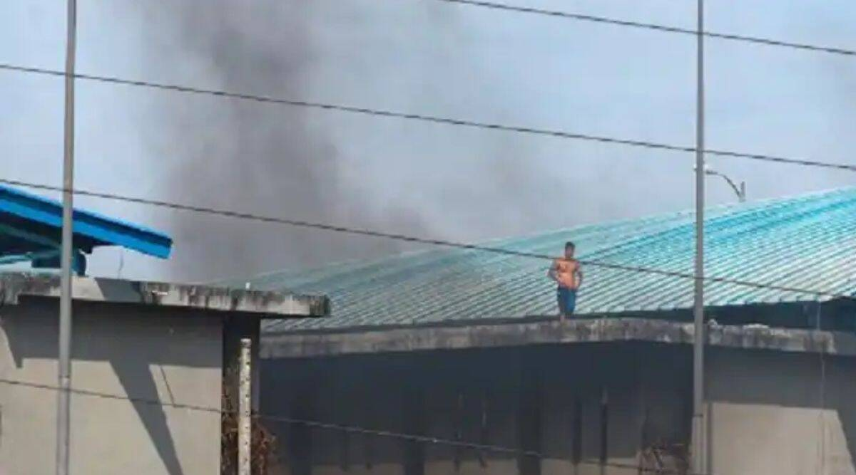 Violence in Ecuadorian prison, 24 dead and 48 injured, prisoners seen firing from prison windows