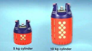 new composite cylinder, LPG